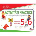 Activitati practice cu Rita-Gargarita si Greierasul Albastru, pentru grupa mare 5-6 ani