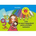 Caiet de munca independenta pentru activitatile matematice – nivelul II grupa mare 5-6 ani