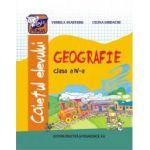 GEOGRAFIE clasa a IV-a. Caietul elevului (Celina Iordache)
