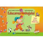 Educarea limbajului – caiet pentru grupa mica