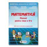 Matematica. Manual pentru clasa a V-a - Mihaela Singer