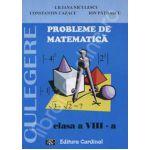 Culegere de probleme de matematica, clasa VIII- (Liliana Niculescu)