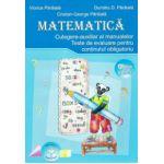 Matematică - culegere, auxiliar, teste evaluare pentru clasa a III-a