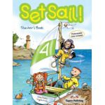 Set Sail 4, Teacher's Book, Manualul profesorului - Jenny Dooley, Virginia Evans