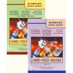 Stiinte pentru juniori, Set doua volume, Chimie, Fizica, Biologie (Olimpiada de Stiinte pentru Juniori ) Editia III-a