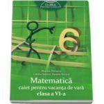 Matematica caiet pentru vacanta de vara clasa a VI-a, (Colectia: Clubul matematicienilor)