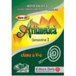 Auxiliar de Aritmetica - clasa a V-a, semestrul I - Artur Balauca