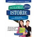Bacalaureat 2016 - Istorie (40 de teste, dupa modelul M. E. C. S) - Mihaela Olteanu