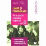 Limba si Comunicare. Teste pentru Evaluarea Nationala clasa a VI-a, (Mariana Cheroiu)