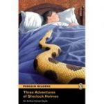Penguin Readers, Level 4. Three Adventures of Sherlock Holmes - Arthur Conan Doyle