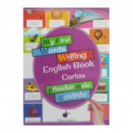 My First Words Writing English Book - Cartea primelor mele cuvinte