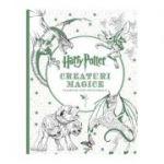 Harry Potter - Creaturi magice (carte de colorat)