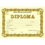 Diploma SCOLARA (DLFD006A )