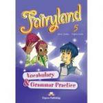Curs limba engleza Fairyland 5 Caiet de gramatica si vocabular