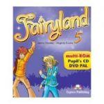 Curs limba engleza Fairyland 5 Multi-ROM