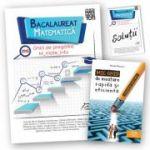 Bacalaureat 2018 - Matematica - Ghid de pregatire M_mate-info + Brosura solutii + Mic ghid de invatare rapida oferit gratuit