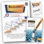 Bacalaureat 2018 - Matematica - Ghid de pregatire M_tehnologic+ Brosura solutii + Mic ghid de invatare rapida oferit gratuit