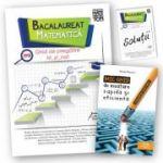 Bacalaureat 2018 - Matematica - Ghid de pregatire M_st-nat + Brosura solutii + Mic ghid de invatare rapida oferit gratuit