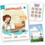 "Matematica, clasa a III-a + carte cadou ""Invatam altfel"" + caiet matematica oferit gratuit"