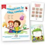 """Comunicare in limba romana, clasa pregatitoare + carte cadou """"Invatam altfel"""" + caiet tip I oferit gratuit"""