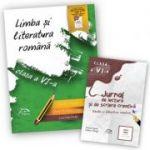 "Limba si literatura romana 2017 – clasa a VI-a + CADOU ""Limba si literatura romana - Jurnal de lectura si scriere creativa, clasa a VI-a"""
