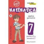 Matematica 2000 Consolidare. Caiet de lucru pentru Clasa a VII-a. Semestrul II Aritmetica, Algebra, Geometrie