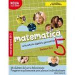Mate 2000+ Caiet de lucru pentru clasa a V-a partea a II-a CONSOLIDARE ( Aritmetica, algebra, geometrie-Sorin Peligrad )