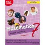 Mate 2000+ Caiet de lucru pentru clasa a VII-a partea a II-a CONSOLIDARE (Aritmetica, algebra, geometrie-Sorin Peligrad) - Dragos Petrica