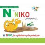N de la Niko, dinozaurul. Cartonata - Greta Cencetti