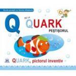 Q de la Quark, pictorul inventiv. Cartonata - Greta Cencetti