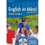 English in Mind Level 5 Student's Book - (contine DVD-Rom) - Herbert Puchta
