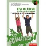Gramatica clasa a VII-a. Fise de lucru si unitati de invatare cu itemi si teste de evaluare - Luminita Ardelean