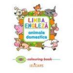 Limba engleza: Animale domestice (Colouring Book)