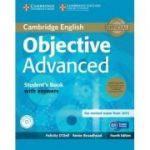 Objective Advanced Student's Book Pack (Student's Book with Answers) - contine 2 CD - Felicity O'Dell