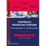 Controlul financiar-contabil la intreprinderi si institutii publice. Teorie si practica - Victor Munteanu