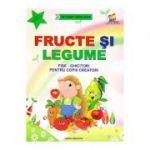 Fructe si legume. Fise-ghicitori pentru copiii creatori - Tatiana Tapalaga