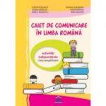 Caiet de comunicare in limba romana. Clasa pregatitoare - Stefan Pacearca