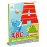 Prima mea carte de colorat - ABC si prietenii lor - Literele alfabetului