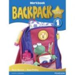 Backpack Gold Level 1 Workbook with Audio CD - Diane Pinkley