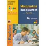Matematica M2 Tehnologic - Bacalaureat, 58 de teste - Felicia Sandulescu