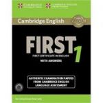 Cambridge English: First 1 - Student's Book Pack (Student's Book with Answers and 2x Audio CDs)