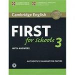 Cambridge English: First for Schools 3 - Student's Book (with Answers and Audio)