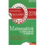Matematica Bacalaureat 2019 M_ştiinţele-naturii, M_tehnologic 40 de teste - Ed. Paralela 45