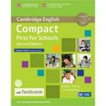 Compact First for Schools - Student's Book (without Answers with CD-ROM and Testbank)