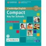 Compact Key for Schools - Student's Book without Answers (with CD-ROM and Testbank)