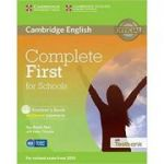 Complete First for Schools - Student's Book (without Answers with CD-ROM and Testbank)