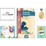 Pachet DZC: Lecturile scolarului, clasa 2-a (contine itemi pentru verificarea cunostintelor)-Editura DZC, Miade (Contribuie la cresterea fluentei in citire) Diploma si Medalie.
