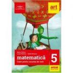 Matematica caiet pentru vacanta de vara clasa a 5-a. Clubul matematicienilor (Editia 2019)