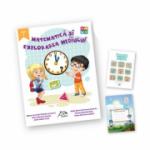 """Matematica si explorarea mediului, clasa I + carte cadou """"Invatam altfel"""" + caiet matematica oferit gratuit"""