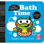 Bath Time: A book that changes colour in water (First Baby Days) - Pat-a-Cake